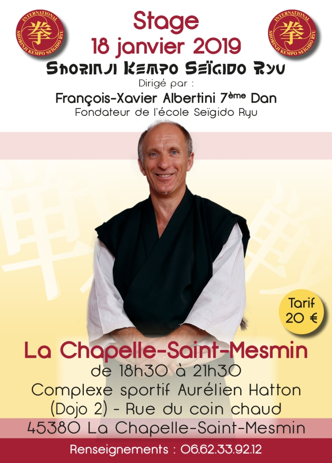 stage shorinji kempo
